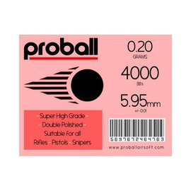 Proball 4000 0.2G WHITE PROBALL HIGH GRADE AMMO