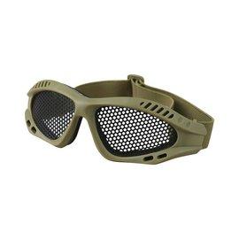 Kombat Tactical Mesh Glasses - Coyote