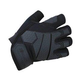 Kombat Alpha Fingerless Tactical Gloves - Black