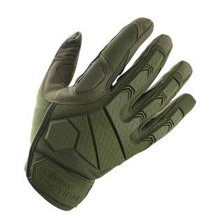 Kombat Alpha Tactical Gloves - Olive Green
