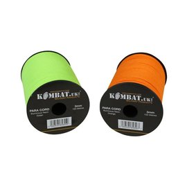 Kombat Paracord - 100m Reel - Neon Green