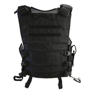Kombat Cross Draw Tac-Vest - Black