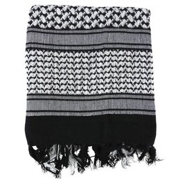 Kombat Shemagh - Black & White