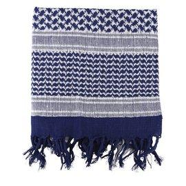 Kombat Shemagh - Blue & White