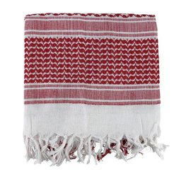 Kombat Shemagh - Red & White