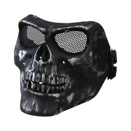 Kombat Half Face Skull Mask