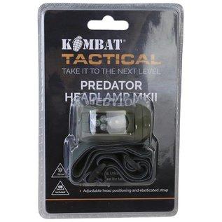 Kombat Predator Headlamp II - Olive Green