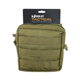 Kombat Medium MOLLE Utility Pouch - Coyote