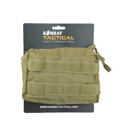 Kombat Small MOLLE Utility Pouch - Coyote