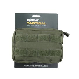 Kombat Small MOLLE Utility Pouch - Olive Green