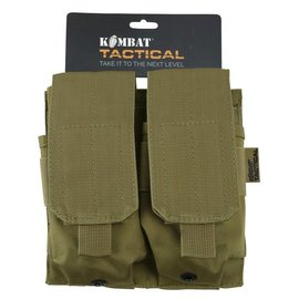 Kombat Double ORIGINAL Style Mag Pouch - Coyote