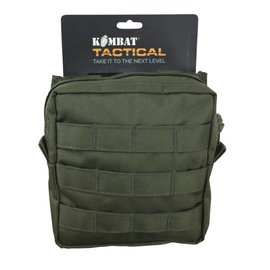 Kombat Medium MOLLE Utility Pouch - Olive Green