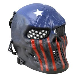 Kombat Skull Mesh Mask - USA