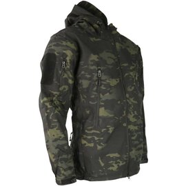 Kombat PATRIOT Tactical Soft Shell Jacket - MT Black