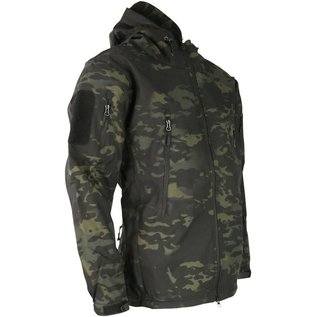 Kombat PATRIOT Tactical Soft Shell Jacket - MT Black