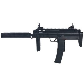 Well Well R4 AEG Sub-Machine with Silencer (Full Metal - Long Mag. - R4-BLACK)