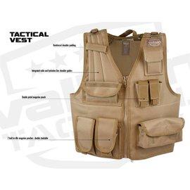 valken Vest - Valken Tactical Vest (Size Adjustable) Tan