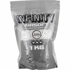 valken Airsoft BBs - Infinity 0.25G, 4,000 count, White