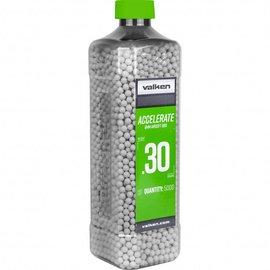 valken Accelerate Airsoft BBs - 0.30G-5000CT-White