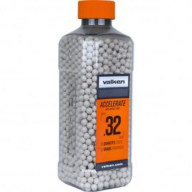 valken Valken Accelerate Airsoft BBs - 0.32G-2500CT-White