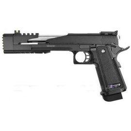 WE WE Hi-Capa 7 inch Full Metal Dragon Model A (Black)