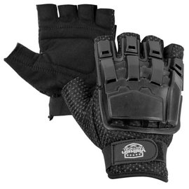 valken Valken Half Finger Plastic Back Gloves XL-2XL