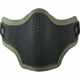 valken Valken Tactical 2G Wire Mesh Tactical Mask Green Skull