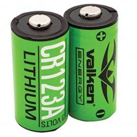 valken Battery - CR123A 3v Lithium (2-pack)