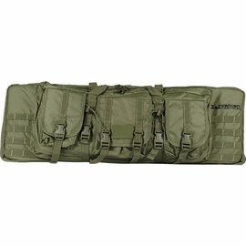 "valken Bag Valken Tactical 36"" Double Rifle Tactical Gun Case - Olive Green"