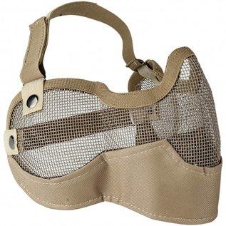 valken Valken Tactical 3G Wire Mesh Tactical Mask -Tan