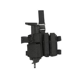 CCCP CCCP SMG Dropleg Holster (2 Mag. Pouch - Black)