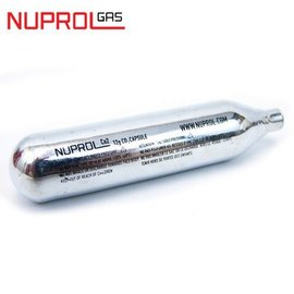Nuprol NUPROL 12G CO2 CAPSULE GAS