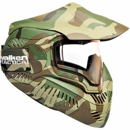 valken Valken Paintball MI-7 Goggle/Mask with Dual Pane Thermal Lens - Camo