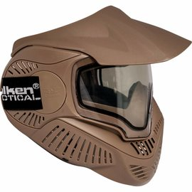 valken Valken Paintball MI-7 Goggle/Mask with Dual Pane Thermal Lens - Tan