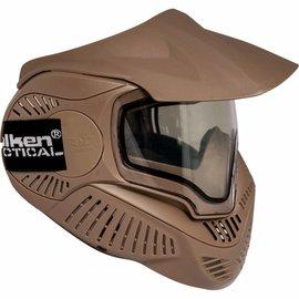 valken Valken Paintball MI-7 Goggle/Mask with Dual Pane Thermal Lens - Tan