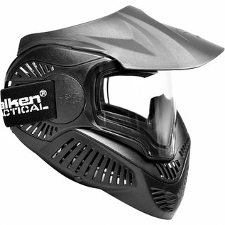 valken Valken Paintball MI-7 Goggle/Mask with Dual Pane Thermal Lens - Black