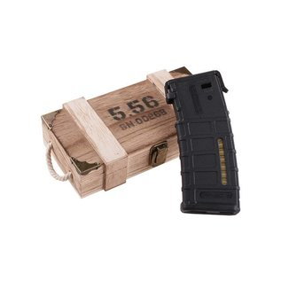 5.56 [EME-14-019196] AR15 Style Mag Power bank - Black
