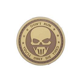 GFG 3D Patch – Don't Run - Ghost - TAN