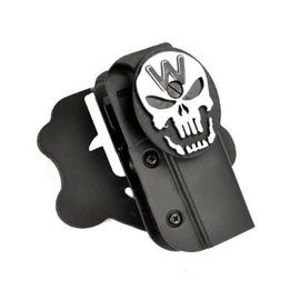 WE WE Hi-Capa Holster (W-Skull - Black)