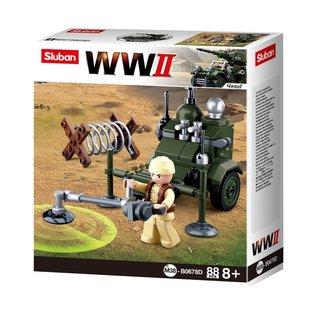 Kombat Sluban - B0678D (WWII Mine Sweeper)