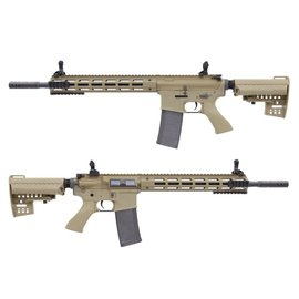 KING ARMS KING ARMS M4 TWS M-LOK RIFLE ULTRA GRADE II - DARK EARTH