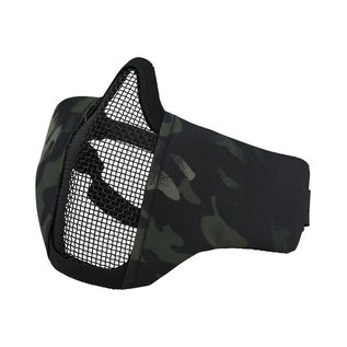 Kombat Recon Face Mask - BTP Black