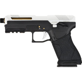 valken Pistol - Valken AVP17 Silver Gas Blowback Metal-6 mm (EU)