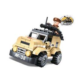 Kombat Sluban - B0587A (Patrol Car)