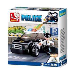Sluban - B0638D (Patrol Car)