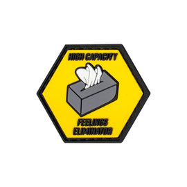 "valken Patches - Feelings Eliminator 1.5"" x 1.3""-Yellow"