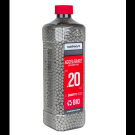 valken Valken Accelerate Airsoft BBs - 0.20G Bio-5000CT-White