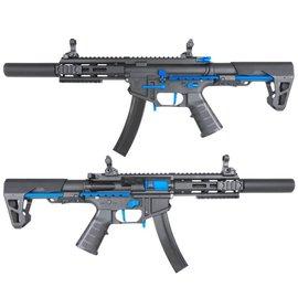 KING ARMS KING ARMS PDW 9MM SBR SD - BLACK & BLUE