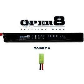 Oper8 Oper8 11.1v 1300MAH LiPo Stick - Tamiya