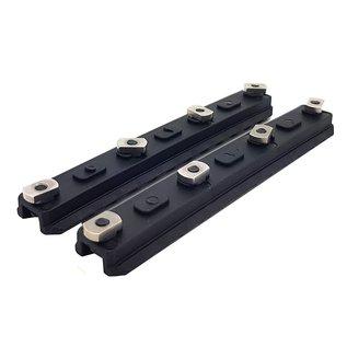 "Ares AresAmoeba 5.0"" M-Lok Key Rail System (2pcs - ABS - AM-ML-R-006)"
